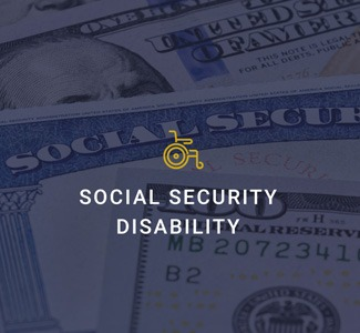 social security disability with wheelchair icon